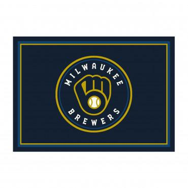 MILWAUKEE BREWERS SPIRIT RUG