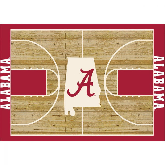 Alabama crimson tide rug from fan cave rugs