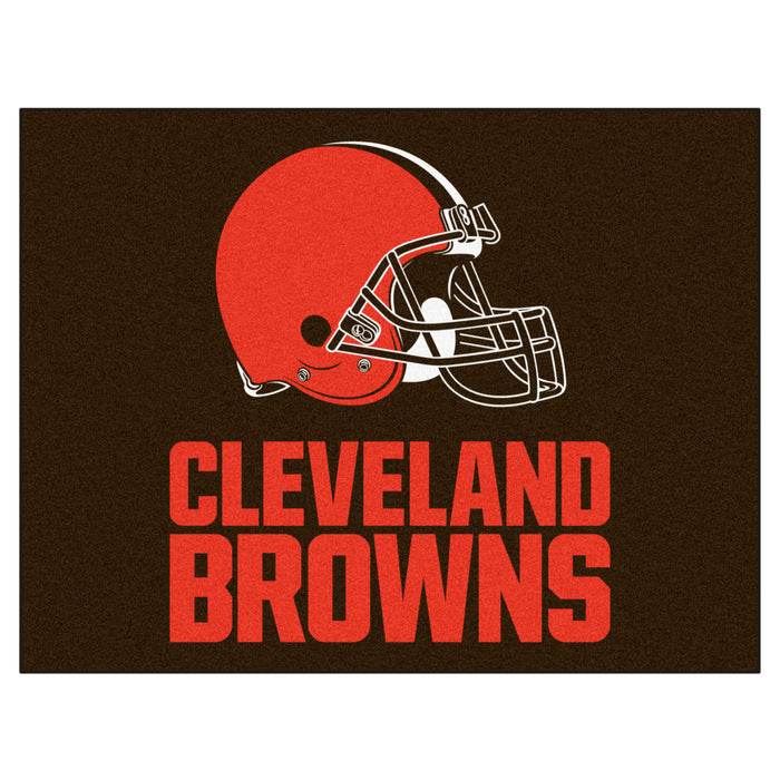 "NFL - Cleveland Browns All-Star Mat 33.75""x42.5"""