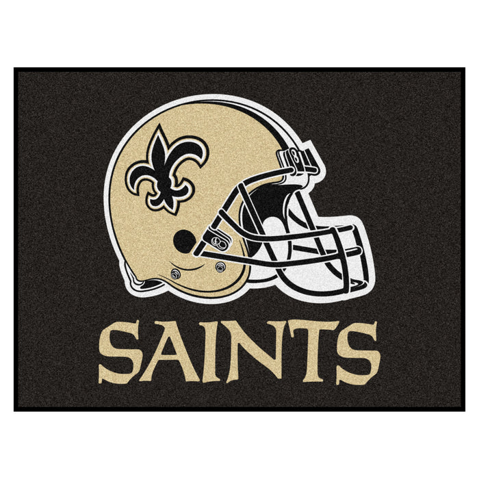 "NFL - New Orleans Saints All-Star Mat 33.75""x42.5"" - Fan Cave Rugs"