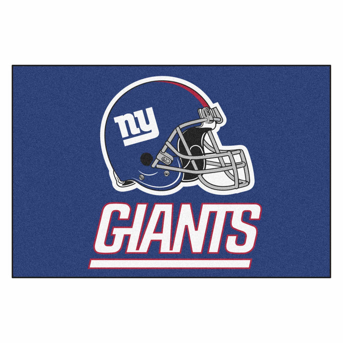 "NFL - New York Giants All-Star Mat 33.75""x42.5"" - Fan Cave Rugs"