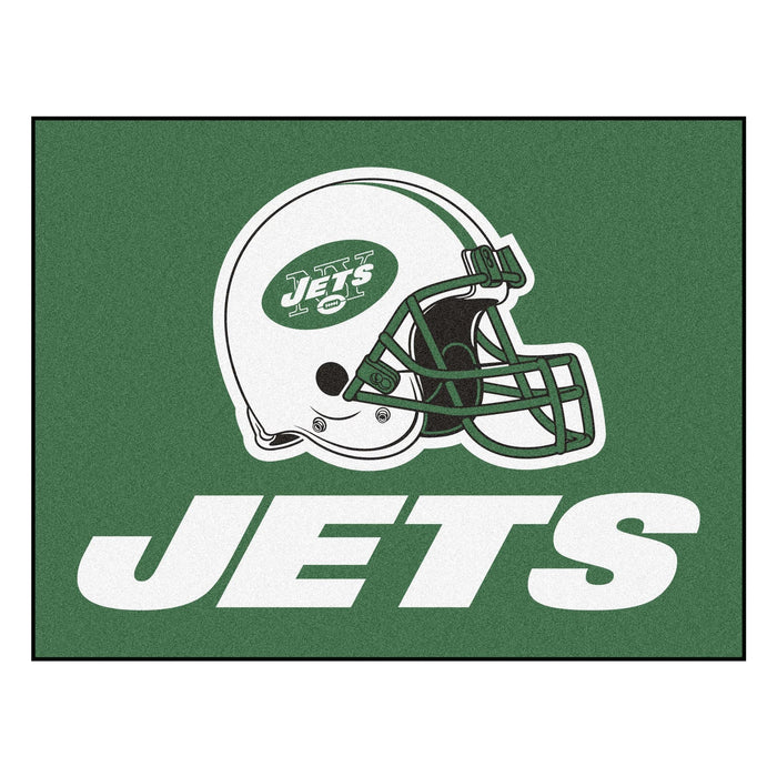 "NFL - New York Jets All-Star Mat 33.75""x42.5"" - Fan Cave Rugs"