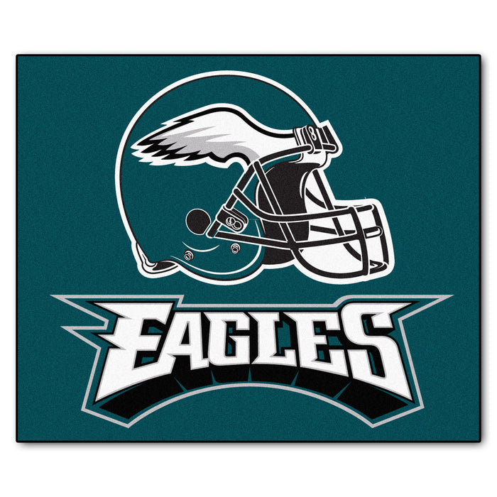 NFL - Philadelphia Eagles Tailgater Rug 5'x6' - Fan Cave Rugs