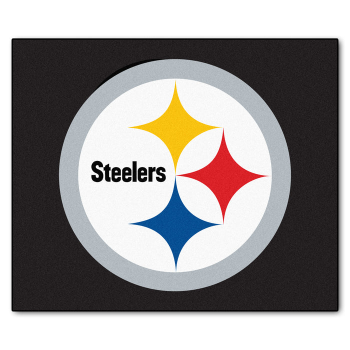 NFL - Pittsburgh Steelers Tailgater Rug 5'x6' - Fan Cave Rugs