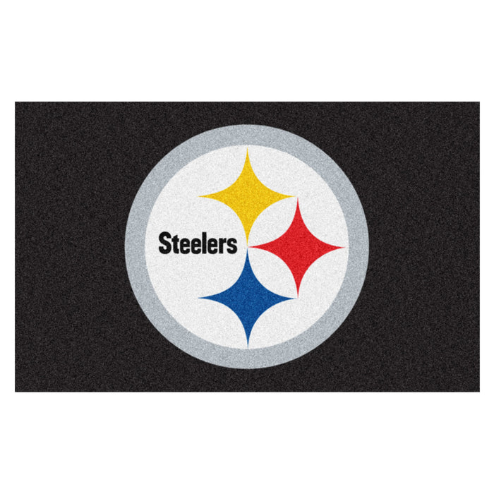 NFL - Pittsburgh Steelers Ulti-Mat 5'x8' - Fan Cave Rugs