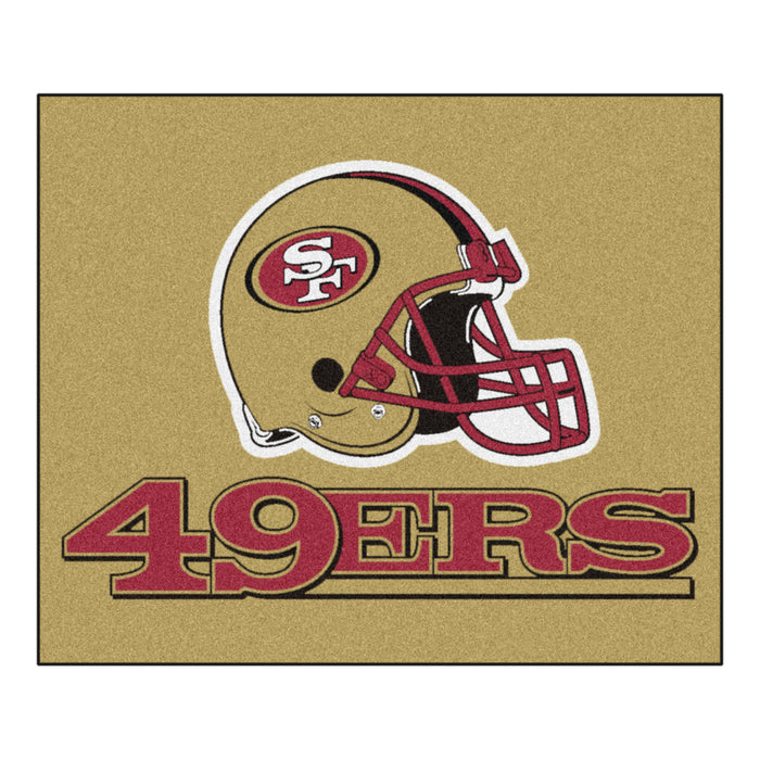 NFL - San Francisco 49ers Tailgater Rug 5'x6' - Fan Cave Rugs