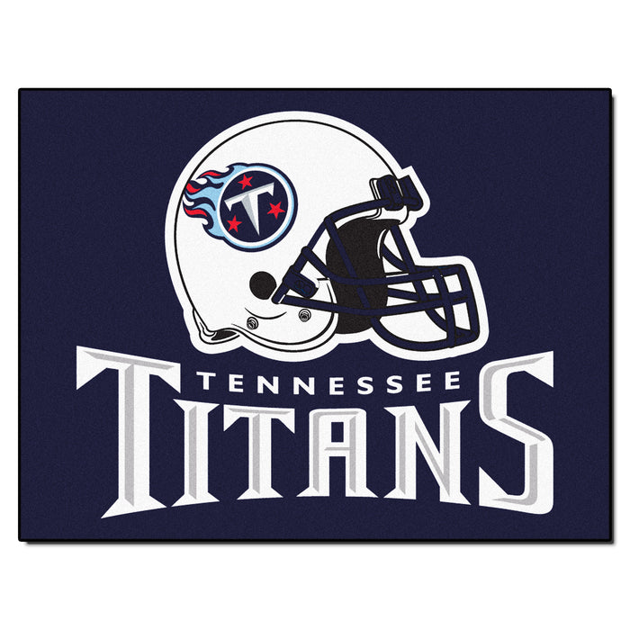 "NFL - Tennessee Titans All-Star Mat 33.75""x42.5"" - Fan Cave Rugs"