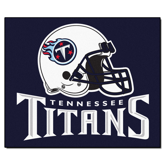 NFL - Tennessee Titans Tailgater Rug 5'x6' - Fan Cave Rugs