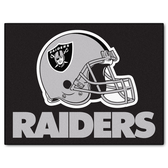 "NFL - Oakland Raiders All-Star Mat 33.75""x42.5"""
