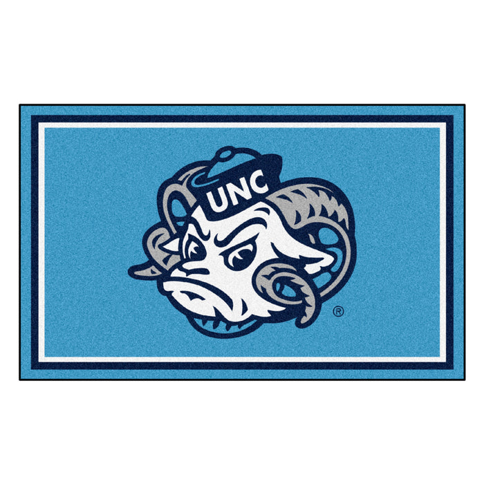 "University of North Carolina - Chapel Hill 4x6 Rug 44""x71"""