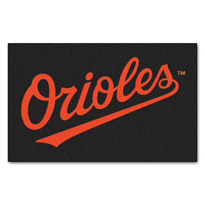 MLB - Baltimore Orioles Ulti-Mat 5'x8' - Fan Cave Rugs