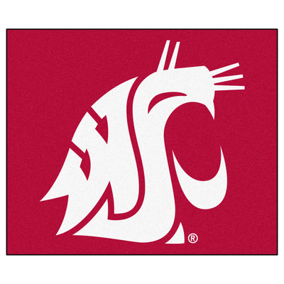 Washington State Tailgater Rug 5'x6' - Fan Cave Rugs