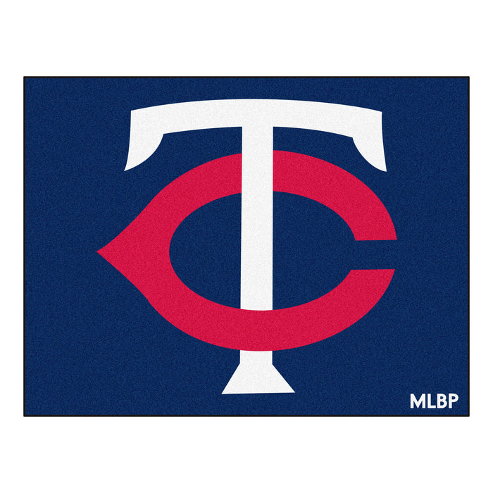 "MLB - Minnesota Twins All-Star Mat 33.75""x42.5"" - Fan Cave Rugs"