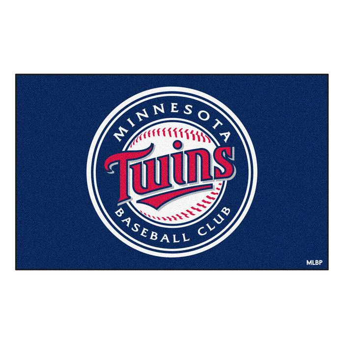 MLB - Minnesota Twins Ulti-Mat 5'x8' - Fan Cave Rugs