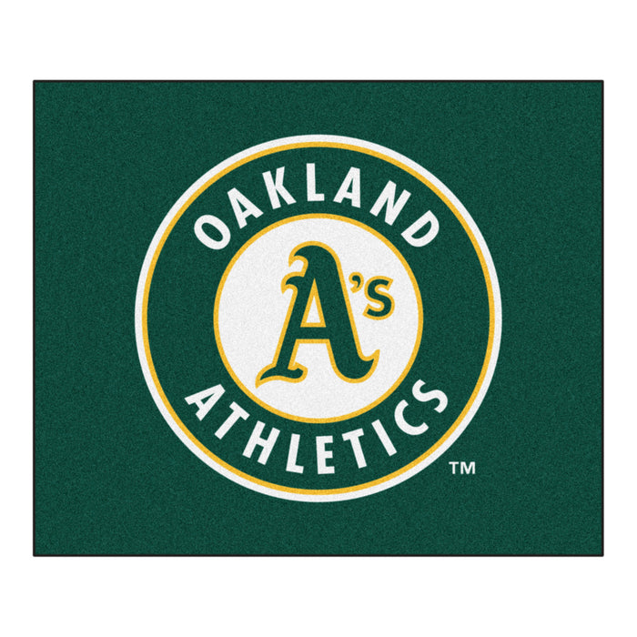 MLB - Oakland Athletics Tailgater Rug 5'x6'