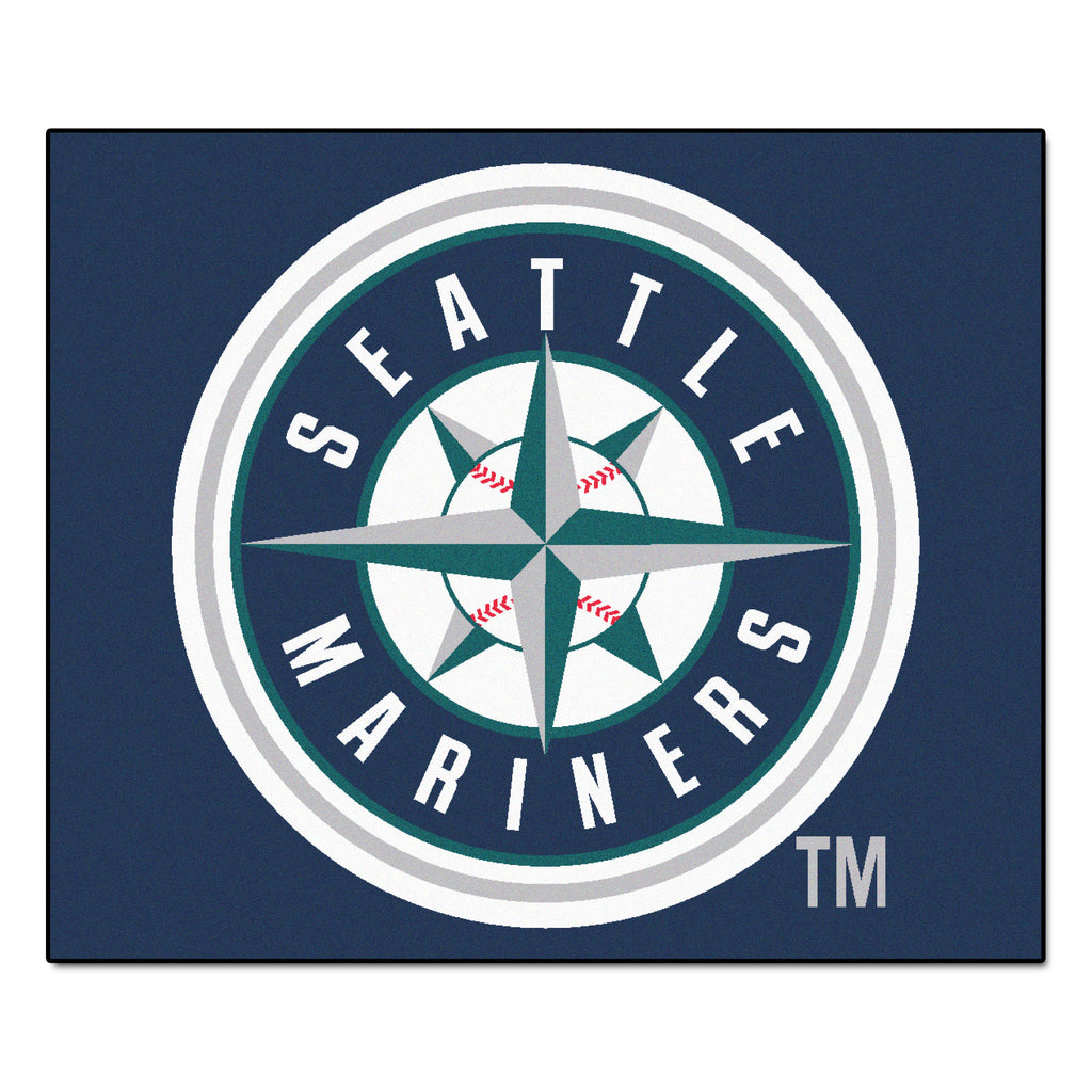 MLB - Seattle Mariners Tailgater Rug 5'x6'