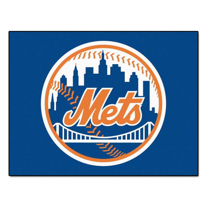 "MLB - New York Mets All-Star Mat 33.75""x42.5"" - Fan Cave Rugs"