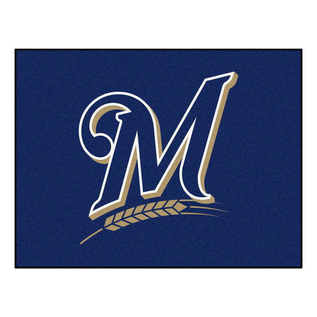 "MLB - Milwaukee Brewers All-Star Mat 33.75""x42.5"""