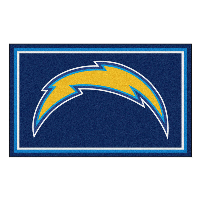 "NFL - Los Angeles Chargers 4x6 Rug 44""x71"""