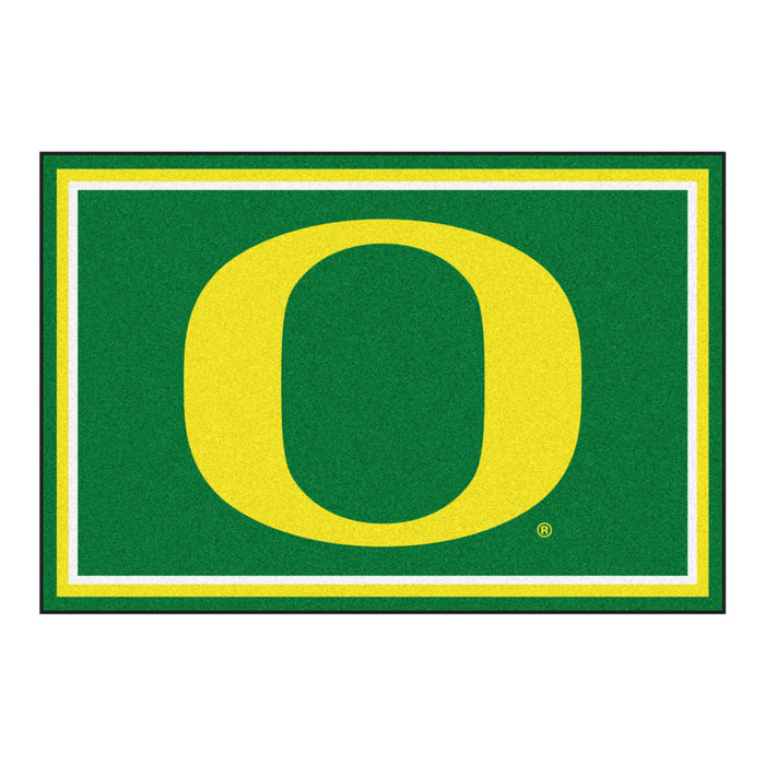 "University of Oregon 5x8 Rug 59.5""x88"""