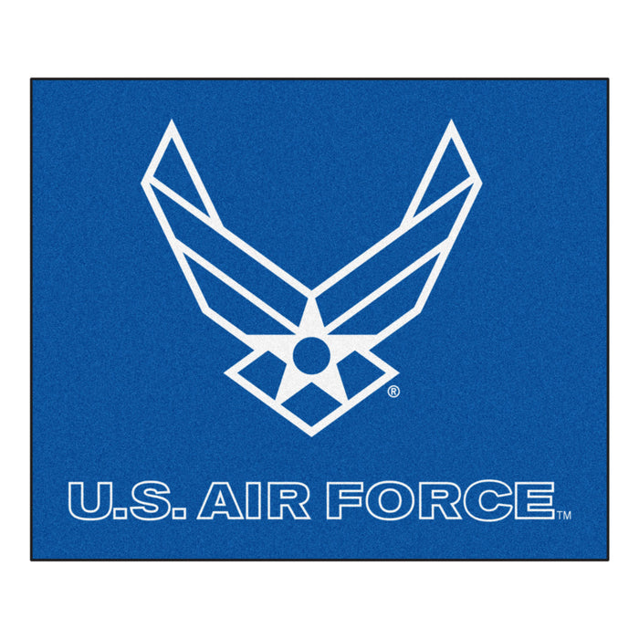 Air Force Tailgater Rug 5'x6' - Fan Cave Rugs