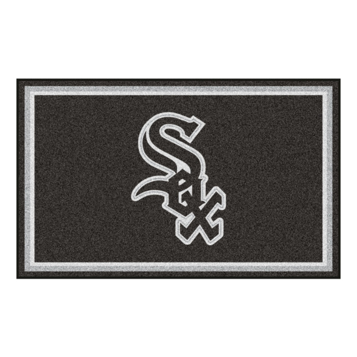"MLB - Chicago White Sox 4x6 Rug 44""x71"""