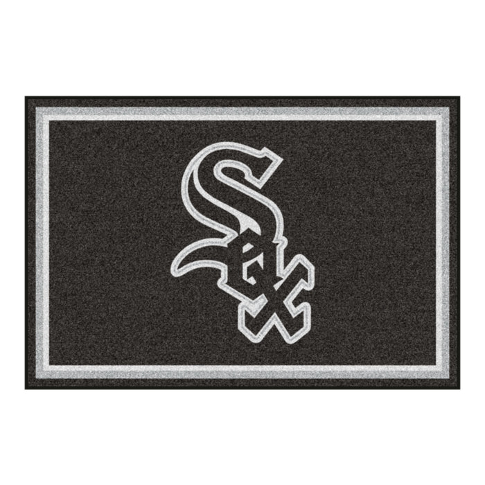 "MLB - Chicago White Sox 5x8 Rug 59.5""x88"""