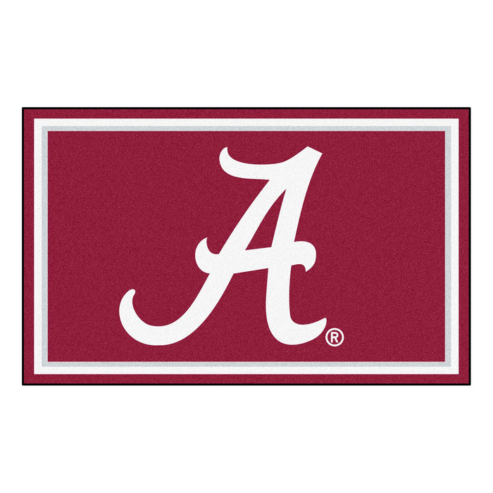 "University of Alabama 4x6 Rug 44""x71"""
