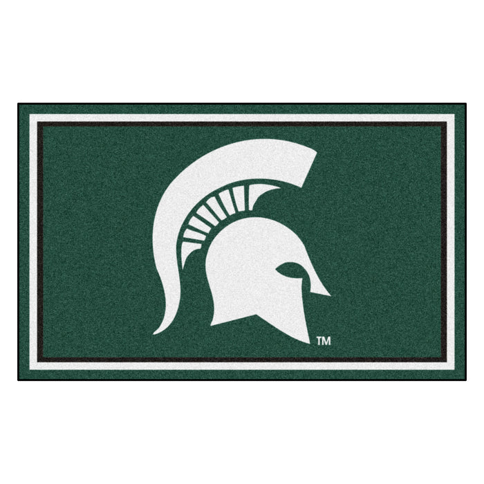 "Michigan State University 4x6 Rug 44""x71"""