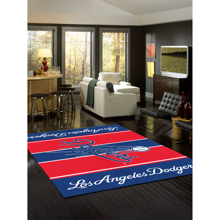Los Angeles Dodgers 4X6 VICTORY RUG