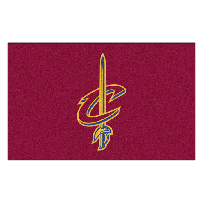 NBA - Cleveland Cavaliers Ulti-Mat 5'x8' - Fan Cave Rugs