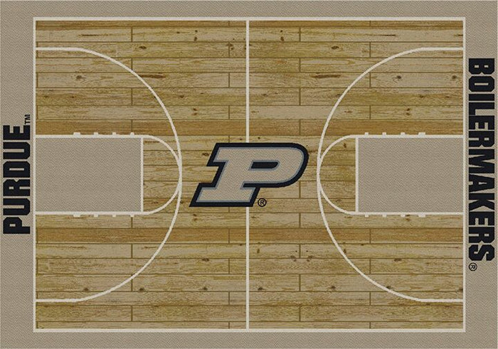 Purdue Rug Team Home Court