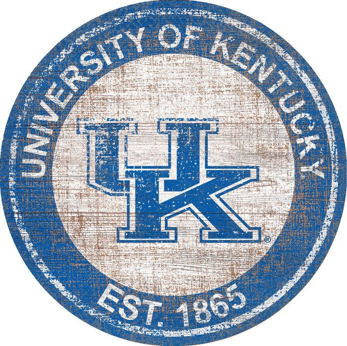 "Kentucky Heritage Logo 24"" Round Wall Art"