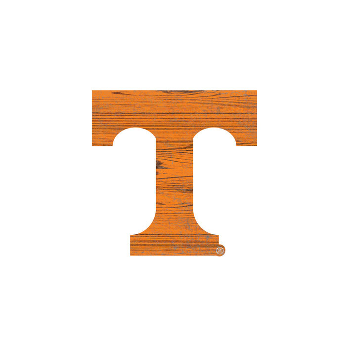 "Tennessee Distressed Logo Cutout 24"" Sign"