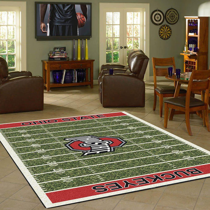 Ohio State Rug Team Home Field