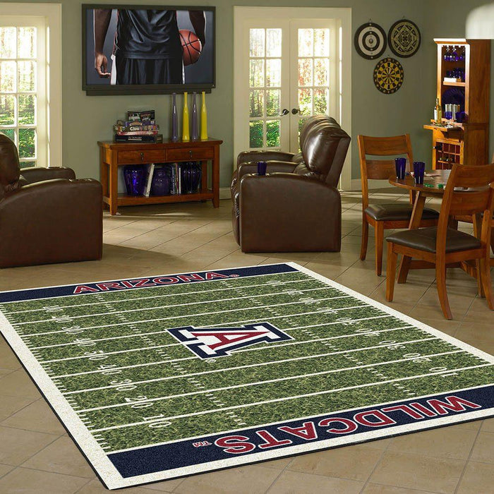 Fan Cave Rugs:Arizona Rug Team Home Field