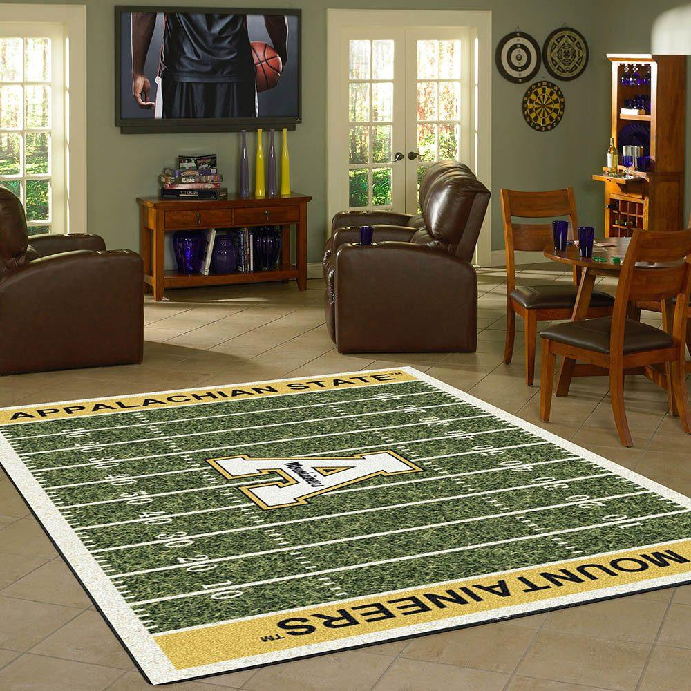 Appalachian State Rug Team Home Field
