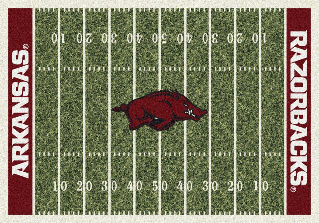 Fan Cave Rugs:Arkansas Rug Team Home Field