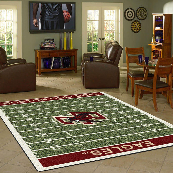Fan Cave Rugs:Boston College Rug Team Home Field