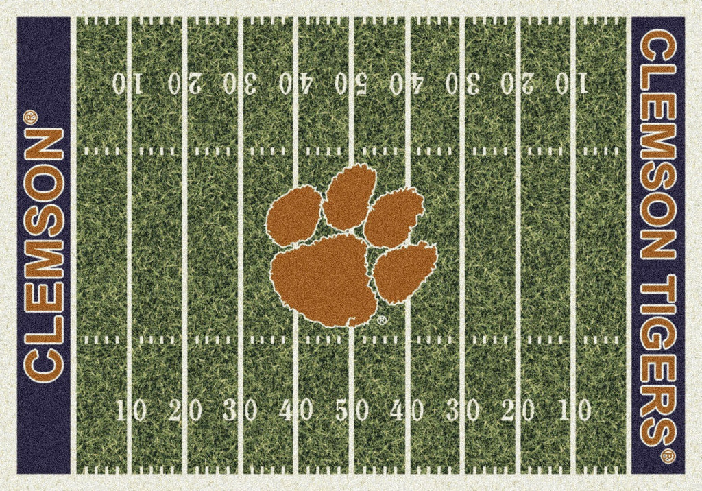 Fan Cave Rugs:Clemson Rug Home Field