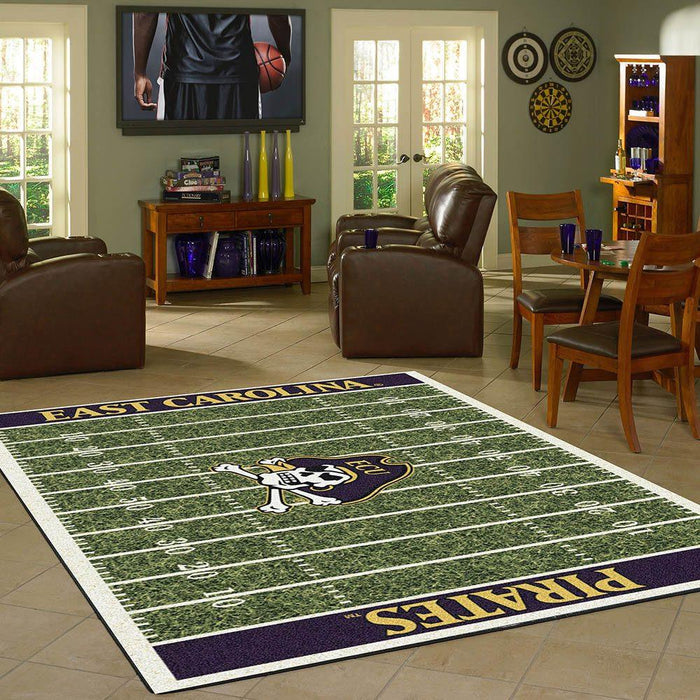 East Carolina Rug Team Home Field