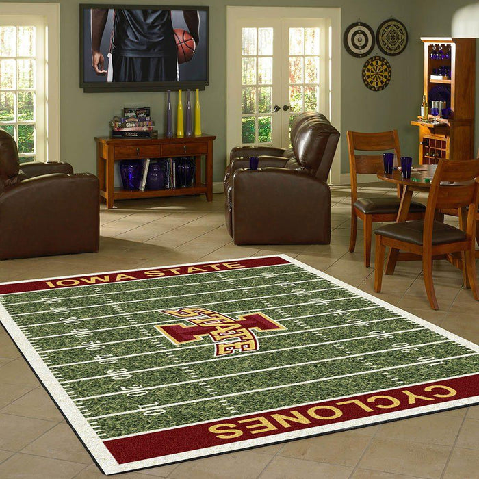 Iowa State Rug Team Home Field