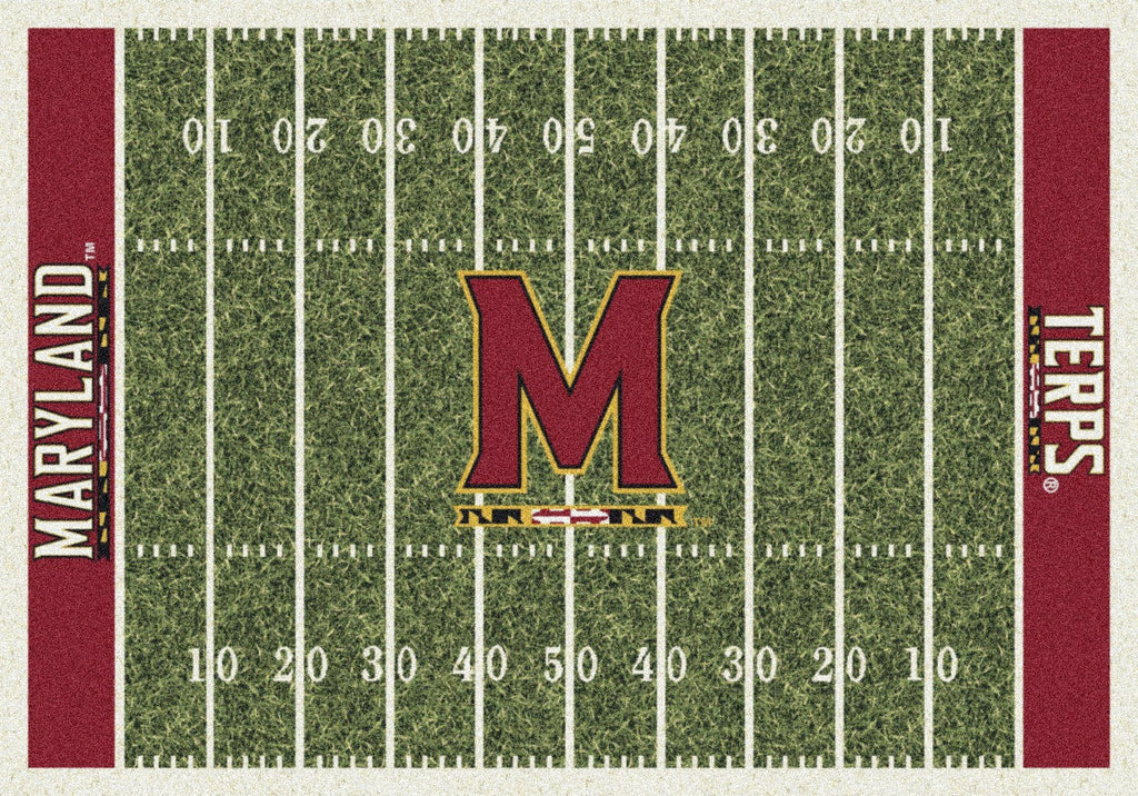 Maryland Rug Team Home Field - Fan Cave Rugs