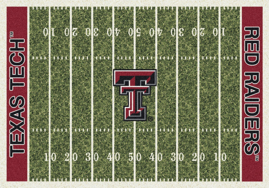 Texas Tech Rug Team Home Field