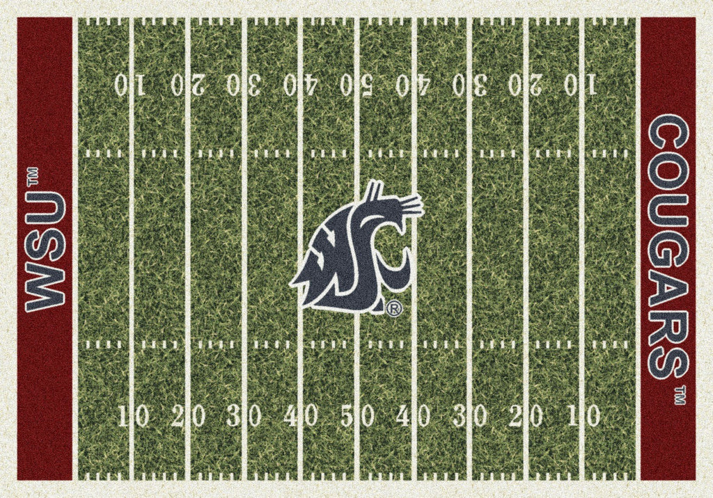 Washington State Rug Team Home Field - Fan Cave Rugs