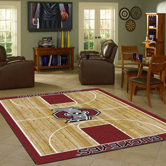 Ohio State Rug Team Home Court