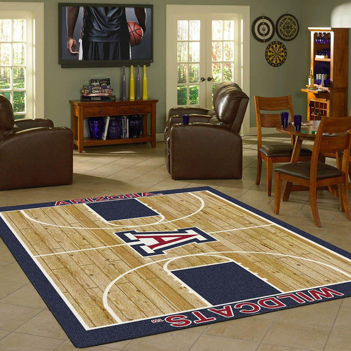 Fan Cave Rugs:Arizona Rug Team Home Court
