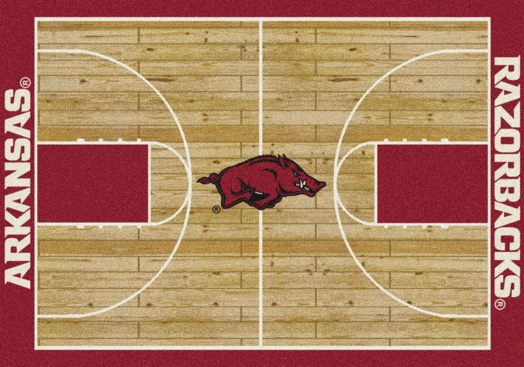 Fan Cave Rugs:Arkansas Rug Team Home Court