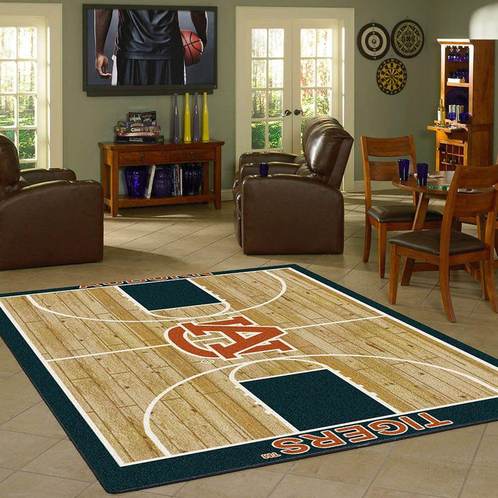 Fan Cave Rugs:Auburn Rug Team Home Court