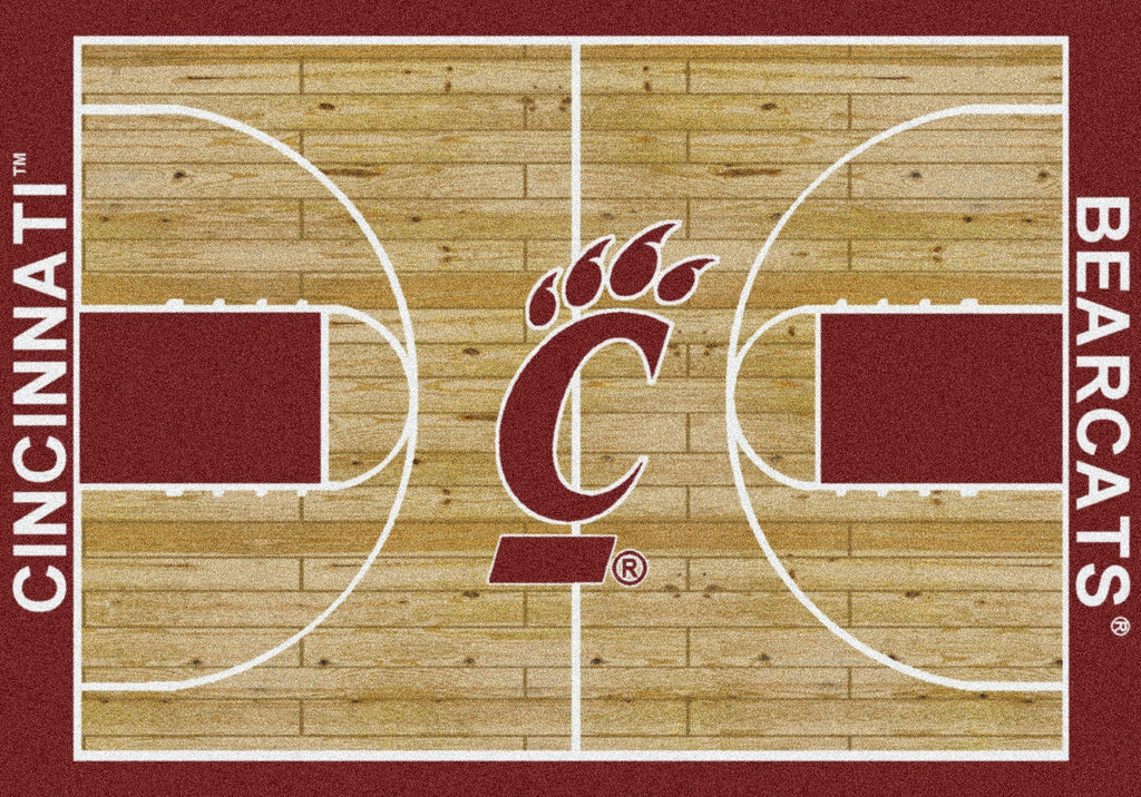 Fan Cave Rugs:Cincinnati Rug Team Home Court